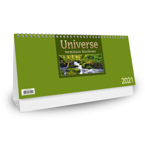 Kalendarz Biurkowy - Stojący - Tygodniowy - UNIVERSE