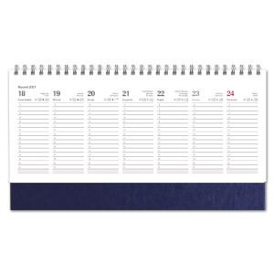 Kalendarz Biurkowy - stojący - Tygodniowy - NEBRASKA - GRANAT