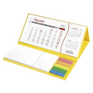 Kalendarz Biurkowy - z NOTESEM - Miesięczny