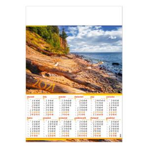 BAŁTYCKI KLIF kalendarz A1