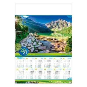 DOLINA RYBIEGO POTOKU kalendarz A1