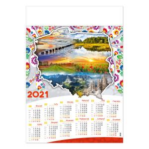 POLSKA FOLK kalendarz A1