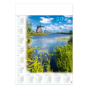 WIATRAKI kalendarz A1