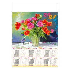 BUKIET kalendarz A1