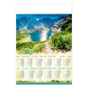 CZARNY STAW GĄSIENICOWY kalendarz B1