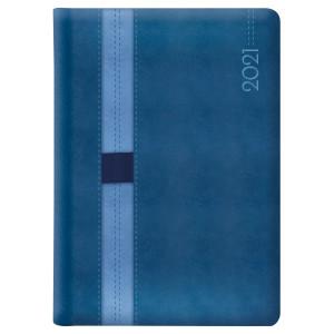 LOOPEN * A5 dzienny  GRANATOWY / NIEBIESKI kalendarz książkowy