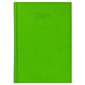 VIVO * A4 tygodniowy JASNOZIELONY kalendarz książkowy