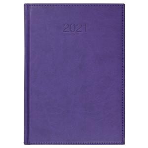 VIVO * A4 tygodniowy FIOLETOWY kalendarz książkowy