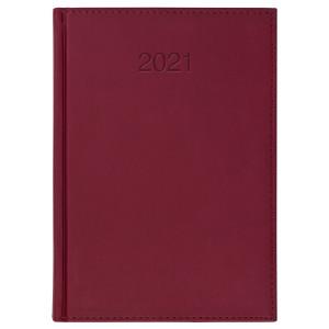 VIVO * A5 dzienny BORDO kalendarz książkowy