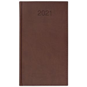 VIVO * A6 tygodniowy BRĄZ kalendarz książkowy
