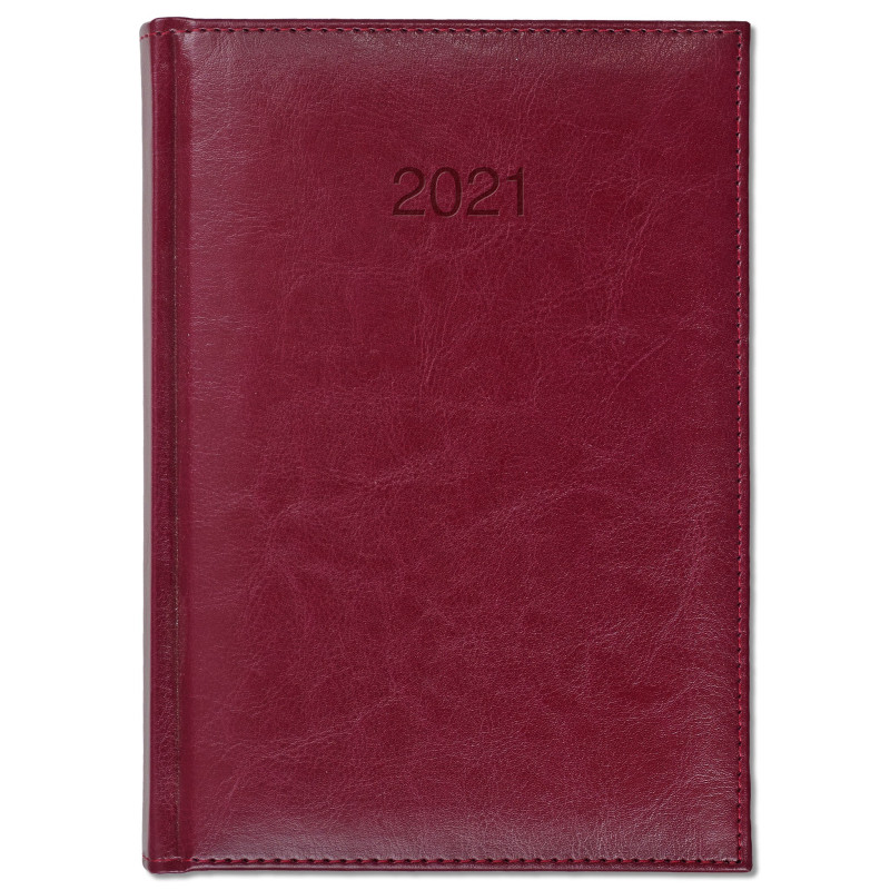 BALADO * A5 dzienny BORDO kalendarz książkowy