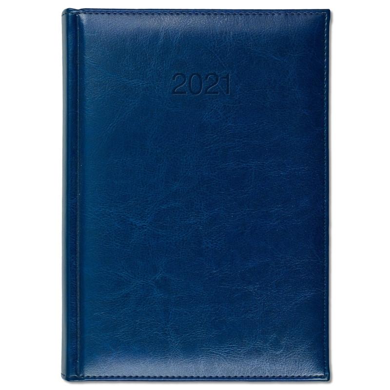 BALADO * A5 dzienny GRANATOWY kalendarz książkowy