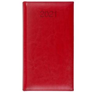 BALADO * A6 tygodniowy CZERWONY kalendarz książkowy