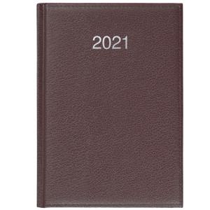 CRONO * A5 dzienny BRĄZ kalendarz książkowy