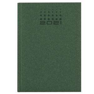 NATURA CLASSIC * A4 tygodniowy ZIELONY kalendarz książkowy