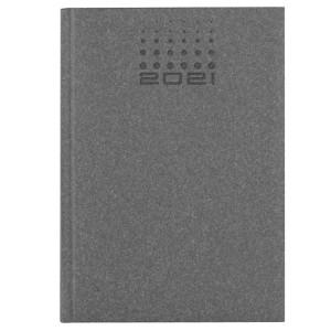 NATURA CLASSIC * A5 dzienny SZARY kalendarz książkowy