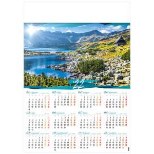 DOLINA PIĘCIU STAWÓW POLSKICH kalendarz A1