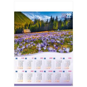 TATRZAŃSKIE KROKUSY  kalendarz B1