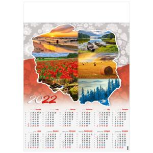 POLSKIE KLIMATY kalendarz A1