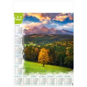TATRY BIELSKIE kalendarz A1