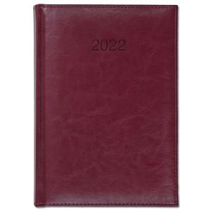 BALADO * A5 dzienny BORDOWY kalendarz książkowy