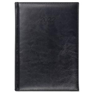 BALADO * A5 dzienny CZARNY kalendarz książkowy