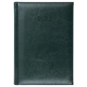 BALADO * A5 dzienny ZIELONY kalendarz książkowy