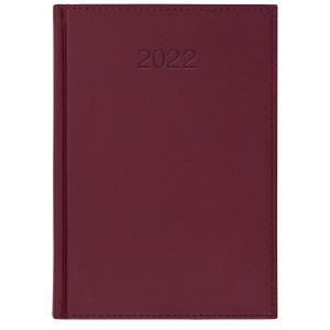 VIVO * B5 dzienny BORDOWY kalendarz książkowy