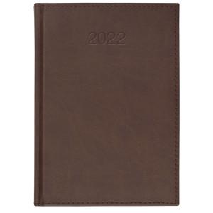 VIVO * B5 dzienny BRĄZOWY kalendarz książkowy