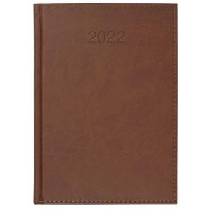 VIVO * B5 dzienny JASNOBRĄZOWY kalendarz książkowy