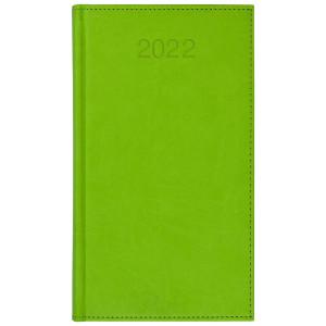 VIVO * A6 tygodniowy JASNOZIELONY kalendarz książkowy