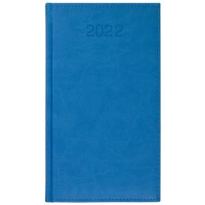 VIVO * A6 tygodniowy NIEBIESKI kalendarz książkowy