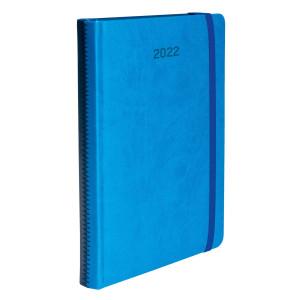 ZIGGO * A4 dzienny NIEBIESKI / GRANATOWY kalendarz książkowy