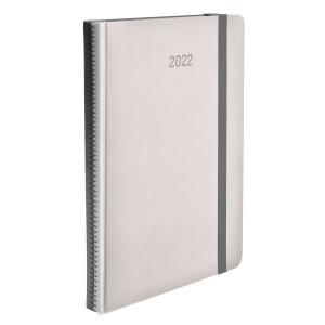 ZIGGO * A4 dzienny KREMOWY / SZARY kalendarz książkowy