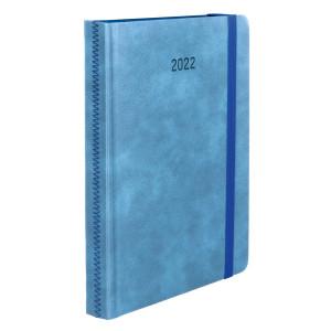 ZIGGO * A4 dzienny NIEBIESKI kalendarz książkowy