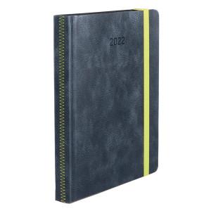 ZIGGO * A4 dzienny SZARY kalendarz książkowy