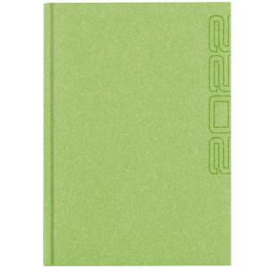 NATURA CLASSIC * A4 dzienny JASNOZIELONY kalendarz książkowy