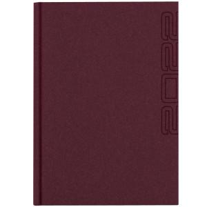 NATURA CLASSIC * A4 dzienny BORDOWY kalendarz książkowy