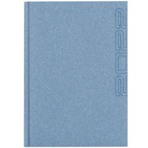 NATURA CLASSIC * A4 dzienny BŁĘKITNY kalendarz książkowy