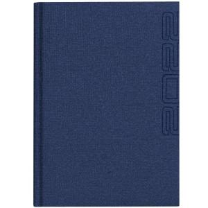 NATURA LEN * A4 dzienny BORDOWY kalendarz książkowy