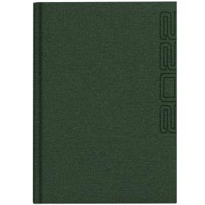 NATURA LEN * A4 dzienny GRANATOWY kalendarz książkowy