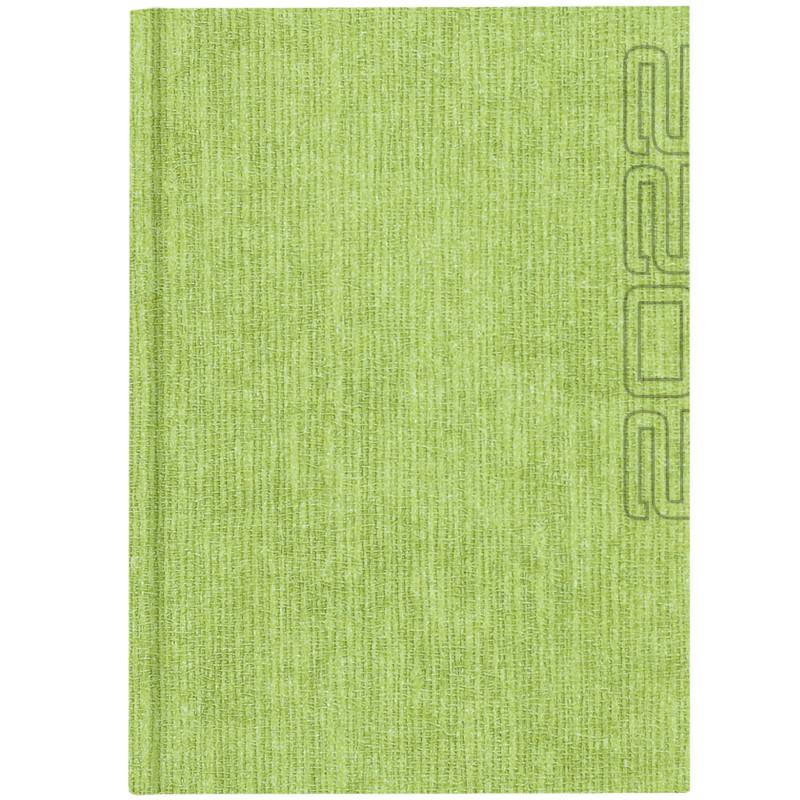 NATURA GRASS * A4 dzienny JASNOZIELONY kalendarz książkowy