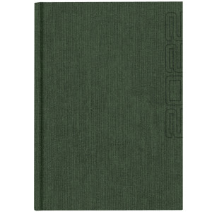 NATURA GRASS * B5 dzienny SZARY kalendarz książkowy