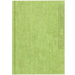 NATURA GRASS * A5 dzienny JASNOZIELONY kalendarz książkowy