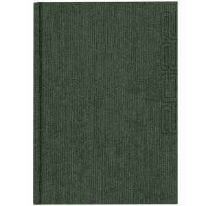 NATURA GRASS * A5 dzienny SZARY kalendarz książkowy