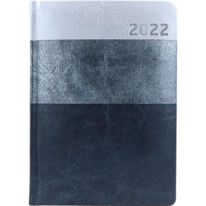 HYPER * A5 dzienny  JASNOSZARY / SZARY / CZARNY kalendarz książkowy