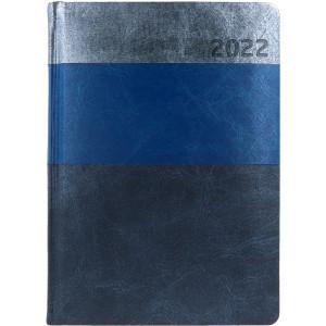 HYPER * A5 dzienny  SZARY / GRANATOWY / CZARNY kalendarz książkowy