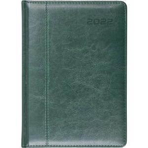 NEVRO * A4 dzienny z registrem ZIELONY kalendarz książkowy