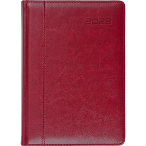 NEVRO * B6 dzienny z registrem BORDOWY kalendarz książkowy