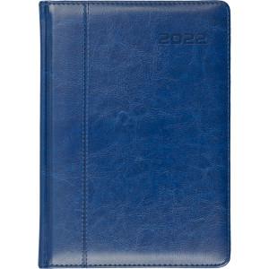 NEVRO * B6 dzienny z registrem GRANATOWY kalendarz książkowy